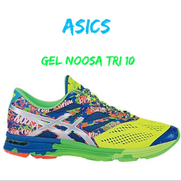 meet f4472 ab1a7 Asics Other - ASICS Mens Gel Noosa Tri 10 Running Shoes Size 10